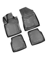 3D Patosnice JEEP Compass, 01/2018 - >  4 pcs.