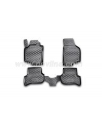 3D Patosnice SEAT Altea XL 2007-> set 4 kom.